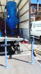 Mobile Absauganlage zur Asbestsanierung